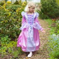 Florentine Fleece lined princess dress
