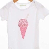 A Handsewn Ice-Cream Bodysuit