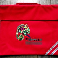 Personalised Embroidered Book Bag