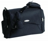MESSENGER CHANGING BAG - Black