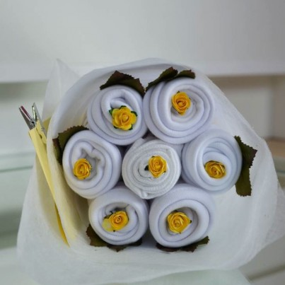 Daisy Bouquet White