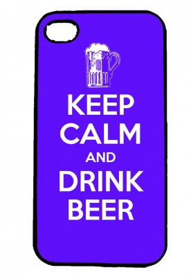 Keep Calm and Drink Beer IPhone Case Will Fit iPhone 4, 4s & 5