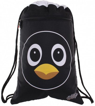 Peko the Penguin Soft String Bag