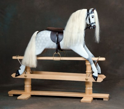 Rivelin rocking horse Light colour stand