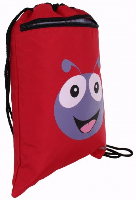 Polka the Ladybird Soft String Bag