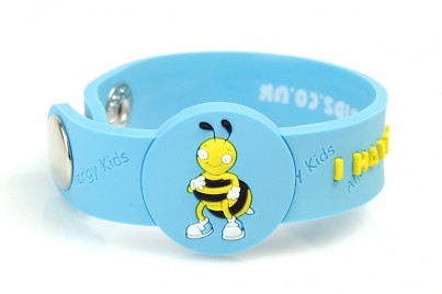 """I Have A Bee Sting Allergy"" Awareness wristband"