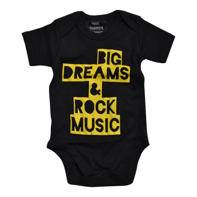 Big dreams organic baby bodysuit