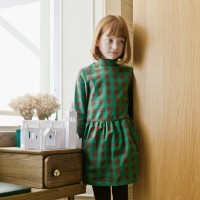 ESME DRESS IN GREEN