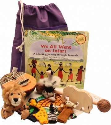The 'We All Went on Safari' Sensory Tale comes complete with stunning African inspired sensory-rich resources to recreate the sights and sounds of a safari adventure.  Includes artefacts and activities.