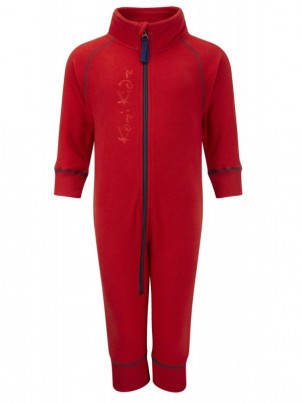 Early Years Microfleece All-in-One Red
