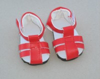 Dolls Shoes - Red Sandle