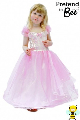 A Party Dress with the SPARKLE Factor  Sequined sparkle front bodice, ruched sparkle sleeves with sequin trim. Sparkle net overskirt trimmed with organza, net and sparkle scarfs attached at the waist. Hoop in the hem to give ball gown appearance.  Comes with Padded Hanger and Presentation Box  The Perfect Gift.