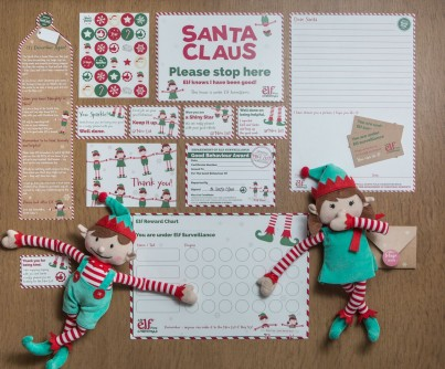 Elf For Christmas - Boy Elf & Magical Reward Kit