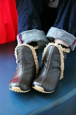 Junior Winter Boots - choc