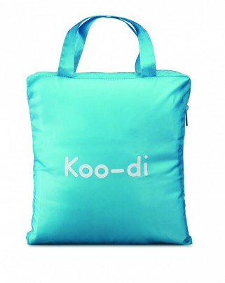 POP UP TRAVEL BASSINETTE - POLKA BLUE