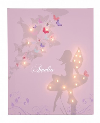 Fairy - Personalised Illuminated Canvas