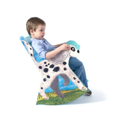 Bumble the Dog Children's Rocking Chair + Story Book