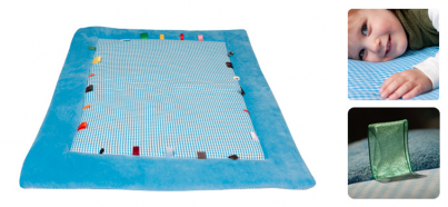 Playing Cloth - Cheerful Playing (85x105cm) Dolphin Blue