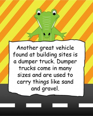 I Love Digger, Forklifts and Trucks