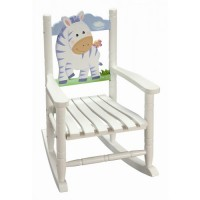 Teamson Zebra Rocking Chair