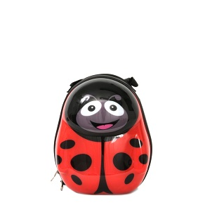 Polka the Ladybird hard shell Backpack from the Cuties and pals
