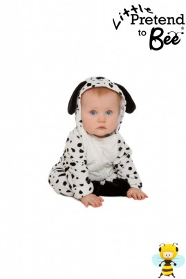Little Dalmation Supersoft velour all in one suit.