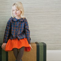 GIRLS CECE SKIRT IN ORANGE