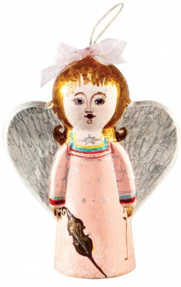 The finished product; just one of the many ways you can decorate your Angel with Heart!