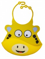Catch All Baby and Toddler Bib - Jake Giraffe