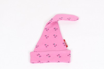 Tilly Pink Organic Knotted Hat 0-6 months