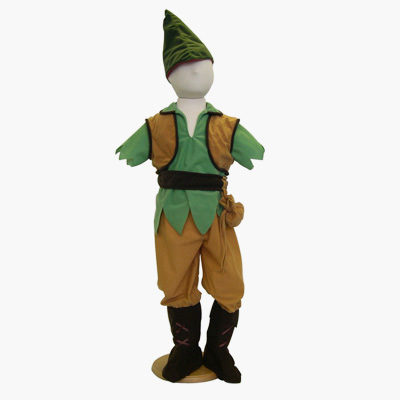 Elf/Robin Hood Reversible Costume