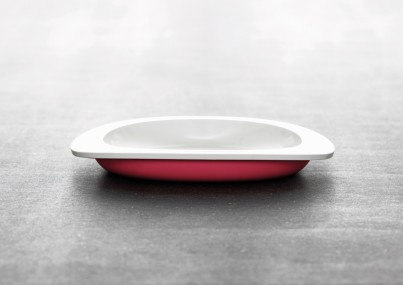 TODDLER FIRST PLATE - RED