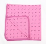 Tilly Pink Flower Organic Swaddling Blanket