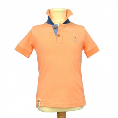 Curtis Island Polo (Salmon)