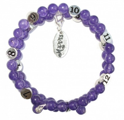 The Mummy Bracelet - Amethyst