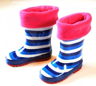 Childrens Cerise Welly Warmas