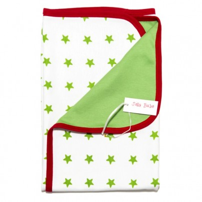 Sleepy Stars Swaddling Blanket in Organic Cotton