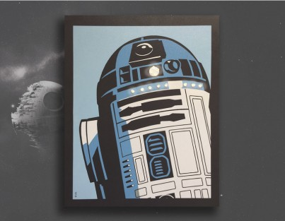 Star Wars™ - R2D2™ Comic Style
