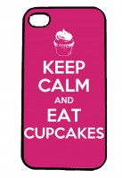 Keep Calm and Eat Cupcakes IPhone Case Will Fit iPhone 4, 4s & 5
