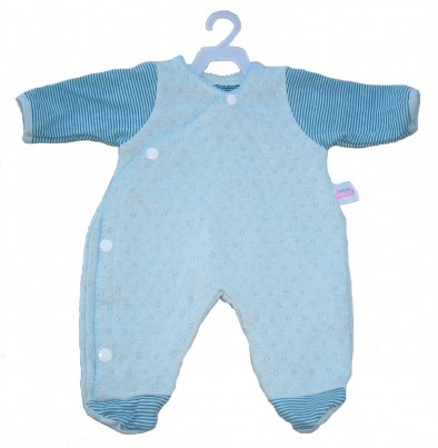 Blue Romper Suit / Sleepsuit