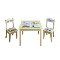 Teamson Transport Table & 2 Chair Set