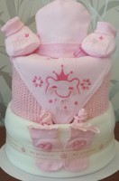 Luxury 3 Tier My Princess Nappy Cake