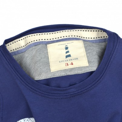 Monkstone Tee in Navy