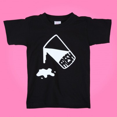 "BUY FRESH CLOTHING'S ""MILK"" KIDS TEE"