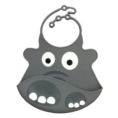 Catch All Baby and Toddler Bib - Ellie Elephant