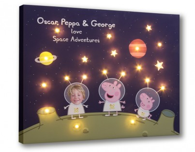 Peppa & George's Space Adventure - Personalise Yours Today