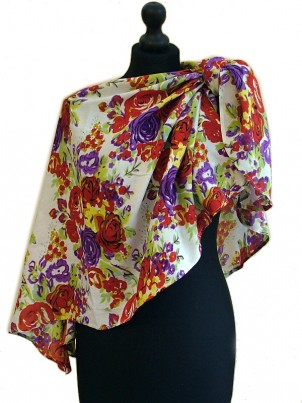 Loveyush Scarf - Primrose-Red