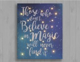 Those who don't believe in Magic, will never find it