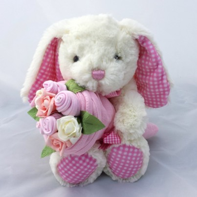 Bunny Baby Girl Bouquet