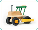 Uniwood Road Roller wooden toy Truck